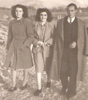 Mis padres y mi tía Paquita