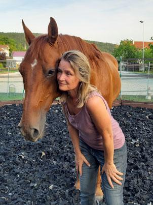 Gelassener Reiter gelassenes Pferd Problempferd reiten Pferd Achtsamkeit