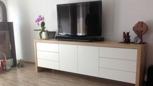 Tischlerei Nengel Lahnstein Koblenz Möbel nach Maß Wohnzimmer Sideboard