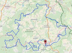 Karte Mtb Fichtelman Nord 194 Km 5653 Hm