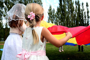 Kinderbetreuung auf Hochzeiten mit Powidl