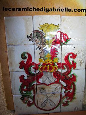 ceramiche artistiche maiolica ceramic italian mattonelle per cucina