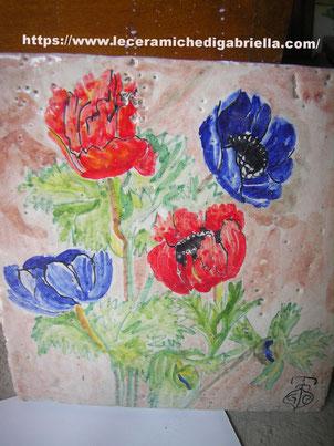 mattonella piastrelle dipinte a mano 10x10 20x20