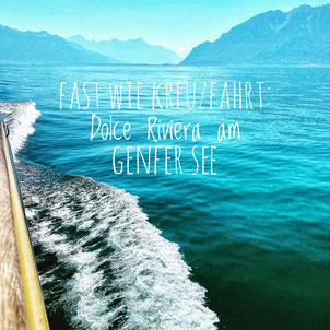 Genfer See, Lac Leman, Montreux, Kanton Waadt