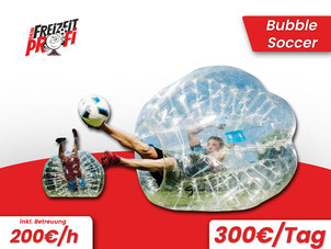 Bubble Soccer mieten - Eventmodule von Dein Freizeitprofi in  Eschwege.