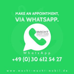 Whatsapp Kundenbetreuung Kfz Dialogannahme