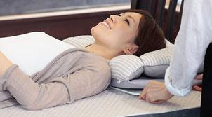 オーダー枕の高さ調整