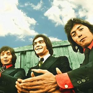 Los Chichos en sus primeras apariciones  (Madrid 1974)