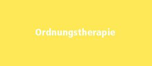 Ordnungtherapie