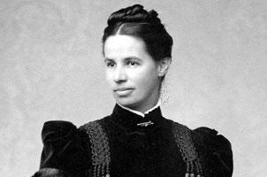 Lina Hähnle (1851-1941),                Foto: Gründerin des NABU.         Foto: Archiv Magda & Wilfried Knöring