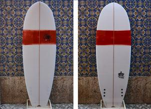 Auswahl Surfbretter in Spanien