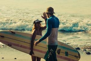 Surfunterricht in Spanien