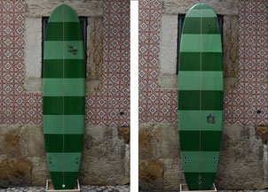 Surfboards in Spanien