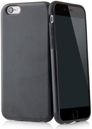 QUADOCTA Corium iPhone 6/6s Plus Hülle in Schwarz