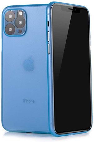 Tenuis iPhone 11 Pro Max Hülle in Blau