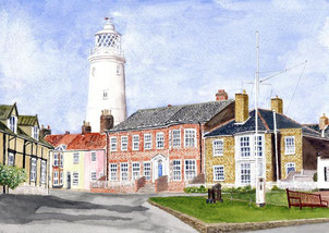 Southwold - Inshore Lighthouse - St James Terrace