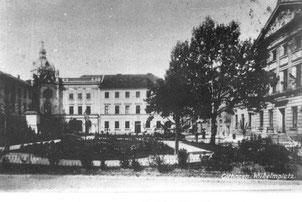 Kaiserhalle am Wilhelmsplatz, bevorzugter Versammlungsort der Gewerkschaften und Sozialdemokraten. StA Göttingen.