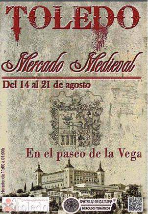 Programa del Mercado Medieval en Toledo
