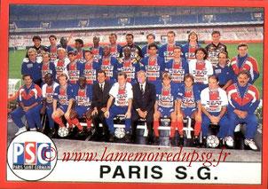 N° 031 - Equipe PSG
