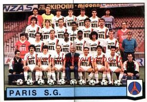 N° 301 et 302 - Equipe PSG