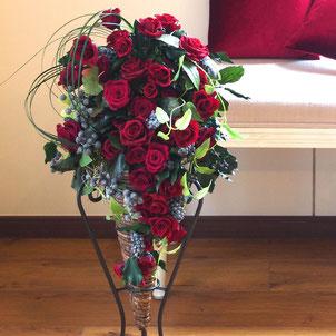 プリザーブドフラワーの開業や開店や開院祝いのスタンド花
