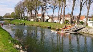 baie de somme canoe kayak sur la trans somme