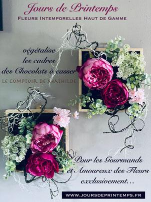 Pour les Gourmands et Amoureux des Fleurs exclusivement !...