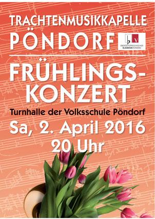 TMK Pöndorf Konzert 2016