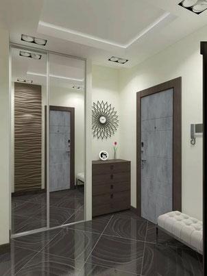Входная дверь со вставками из стекла и молдингом