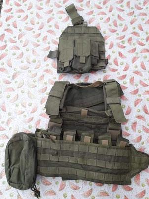 uitzending Afghanistan ISAF infanterie bepakking