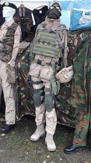 uitzending Afghanistan ISAF infanterie uniform
