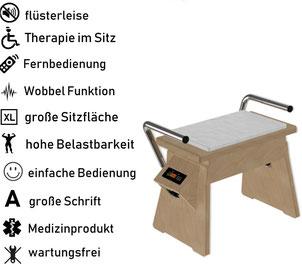 Vibrationsplatte Galileo Med Chair, Test, Vertrieb, Preis, Kosten, Preise: www.kaiserpower.com