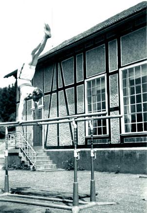 Wilhelm Jung am Barren 1932