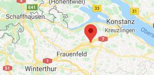 Kartenausschnitt Müllheim Thurgau