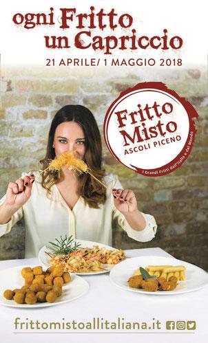 """""""Fritto Misto"""", dal 21 Aprile al 1 Maggio 2018 ad Ascoli Piceno"""