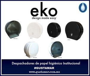 Despachadores de papel higiénico Institucional EKO