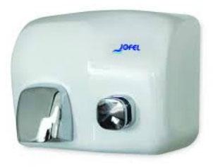 Secador pulsador Ibero AA93126 Color: Blanco vitrificado Material: Acero/ABS Cubierta: Vitrificada Dimensiones en milímetros: Alto: 210 Largo: 280 Ancho: 220 Contenido por caja: 1 pieza