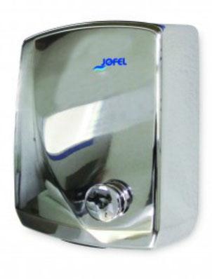 Secador pulsador Futura Inox AA15126 Color: Inoxidable brillante Material: Acero/ABS Cubierta: Inoxidable brillante Dimensiones en milímetros: Alto: 310 Largo: 230 Ancho: 140 Contenido por caja: 1 pieza