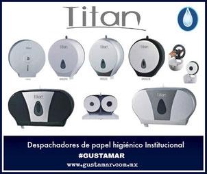 Despachadores de papel higiénico Institucional TITAN