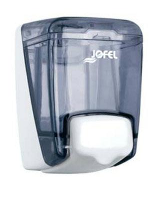 Dosificador/Despachador o dispensadorde jabón rellenable mini AC84000 Color: Transparente con base y pulsador blanco Dimensiones en milímetros: Alto: 140 Largo: 80 Ancho: 120 Capacidad: 400 ml / 13.53 oz Contenido por caja: 2 piezas