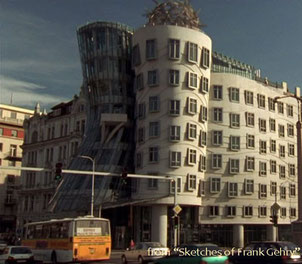 Dancing house - Prague - external view