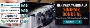Betsix para yatırma bonusu