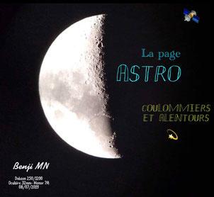 La page Facebook CoulAstro