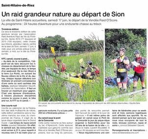 Ouest France St Gilles - 27 mars 2017