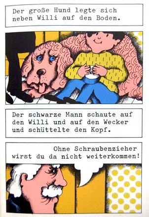 Kinderbuch Klassiker Der Schwarze Mann und der große Hund