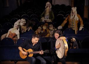 Daniel Stelter und Tommy Baldu im Theater der Nacht
