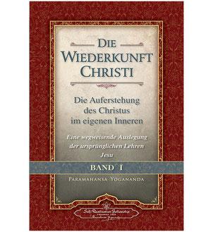 Buch Paramahansa Yogananda Die Wiederkunft Christi