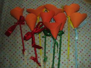 Ramo de flores artesana