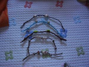 Pulseras infantiles artesanales
