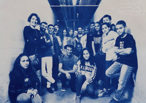 Laurent Reverte concert Paloma Nîmes avec Madibela Diaby les collégiens de Nîmes et les lycéens de Milhaud 11 mai 2019